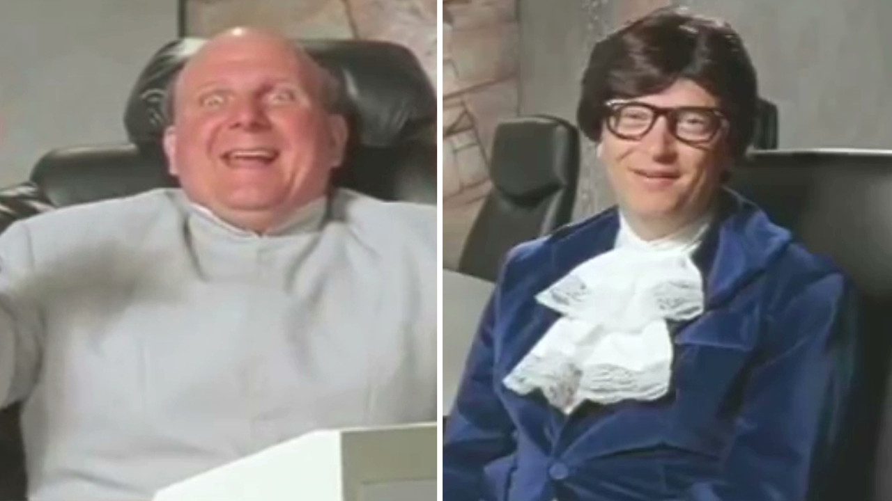 Steve Ballmer Got Bill Gates To Dress As Austin Powers
