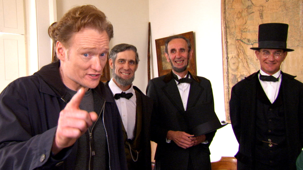 Conan Visits Irish American Heritage Center